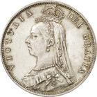 "Halfcrown 1897: Photo 1897 Queen Victoria British Silver ""Widow Head"" Half Crown"