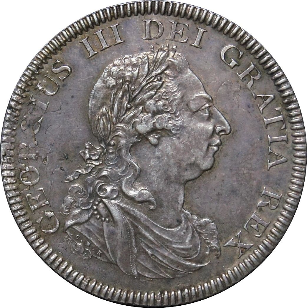 Five Shillings 1804: Photo George III, Silver Dollar, 1804