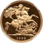 Sovereign 1985 (Proof only): Photo Great Britain 1985 sovereign