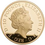 United Kingdom / Gold Five Ounces 2017 Sapphire Jubilee - obverse photo