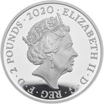 United Kingdom / Silver Ounce 2020 James Bond, Pay Attention - obverse photo