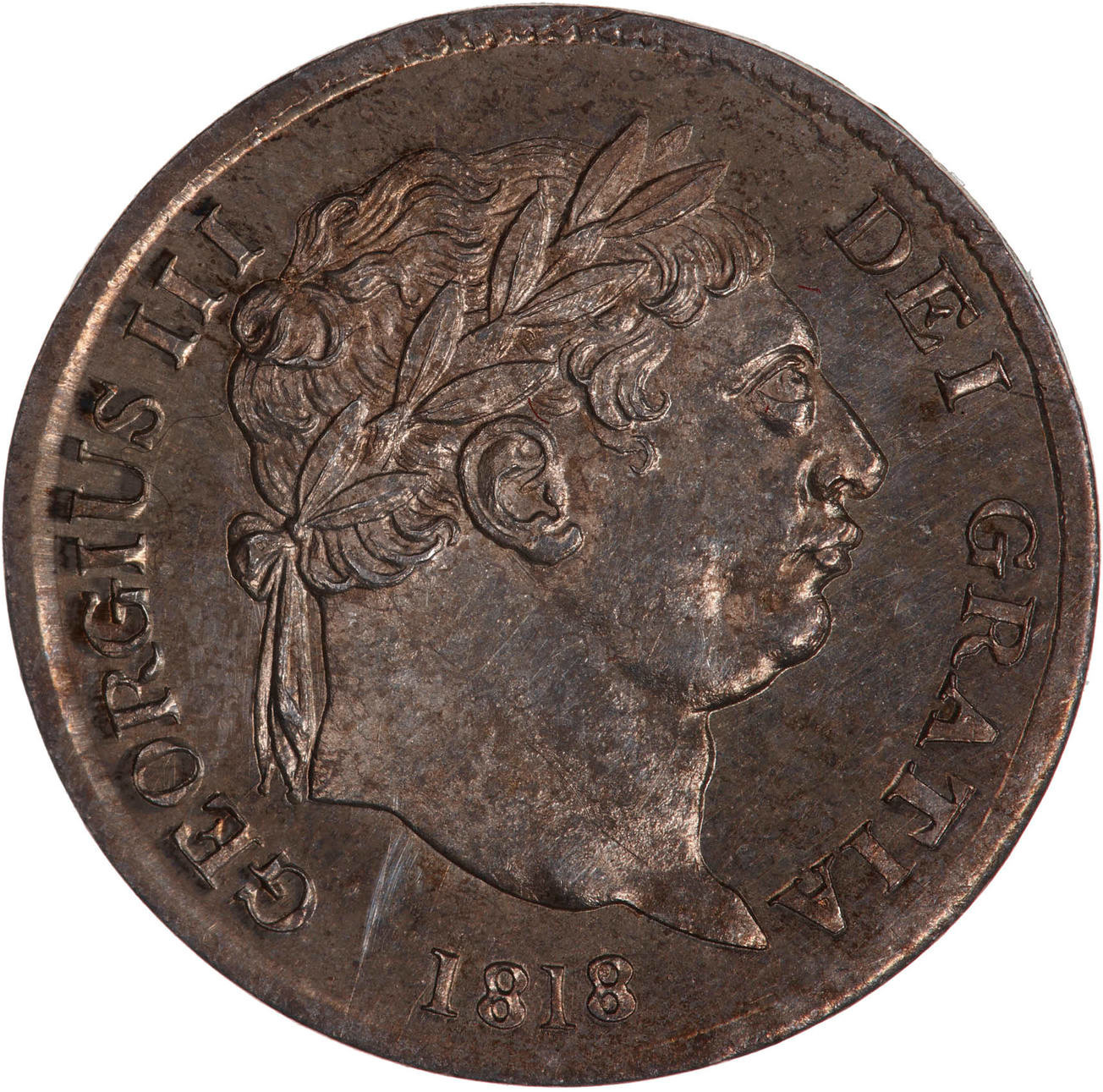 Fourpence 1818 (Maundy): Photo Coin - Groat, George III, Great Britain, 1818