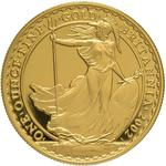 United Kingdom / Gold Ounce 2002 Britannia - reverse photo