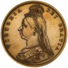 United Kingdom / Half Sovereign 1893 Shield - obverse photo