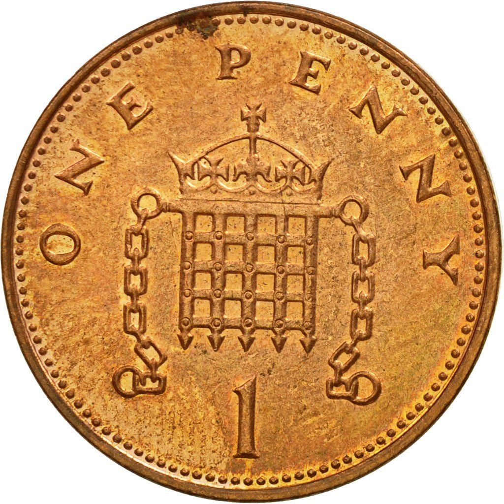One Penny 1999: Photo Coin, Great Britain, Elizabeth II, Penny, 1999
