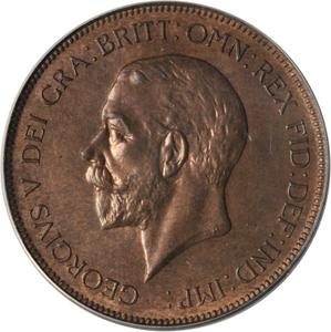 United Kingdom / Penny 1931 - obverse photo