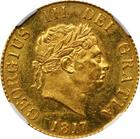 Half Sovereign 1817: Photo Great Britain 1817 1/2 sovereign