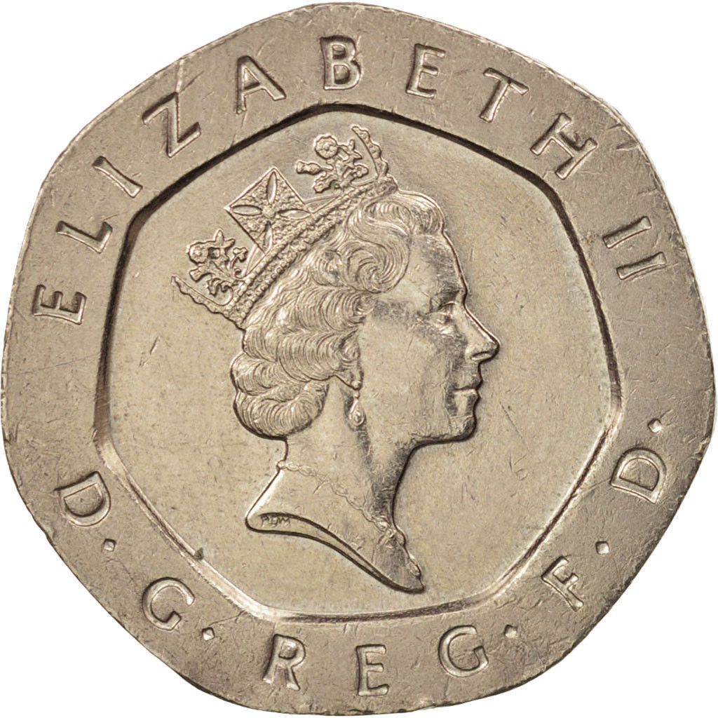 Twenty Pence: Photo Great Britain, Elizabeth II, 20 Pence, 1993