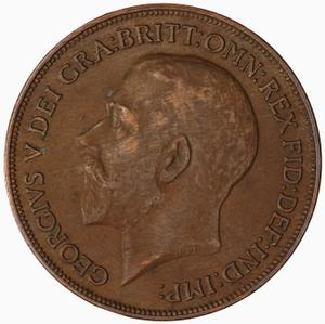 United Kingdom / Penny 1920 - obverse photo