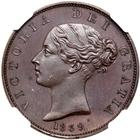United Kingdom / Halfpenny 1839 (Proof only) - obverse photo