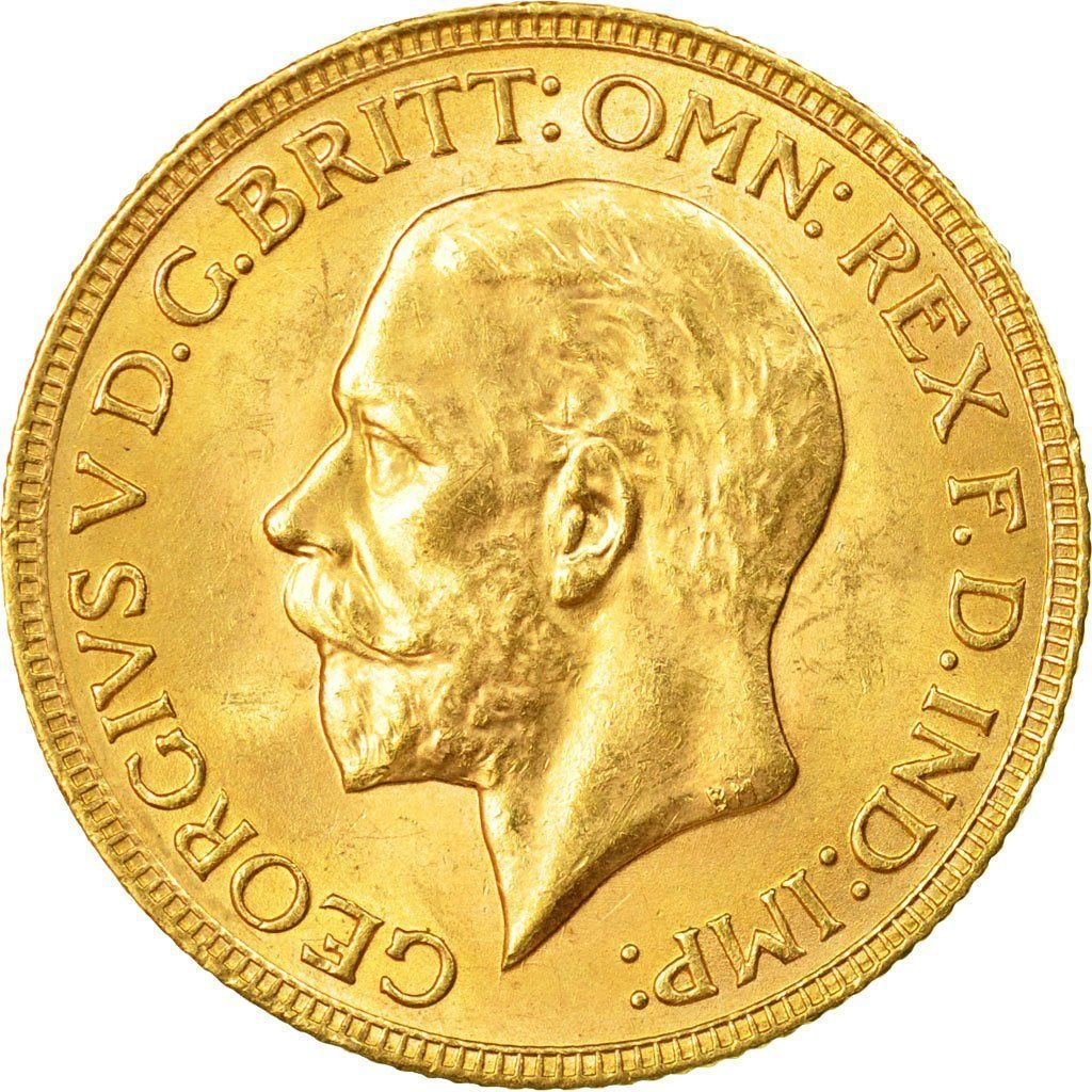 Sovereign 1931: Photo South Africa, George V, Sovereign, 1931