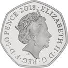 United Kingdom / Fifty Pence 2018 Mrs. Tittlemouse / Silver Proof - obverse photo