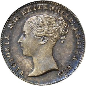 United Kingdom / Threepence 1844 (Maundy) - obverse photo