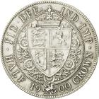 Halfcrown 1900: Photo Silver 1/2 crown, Great Britain