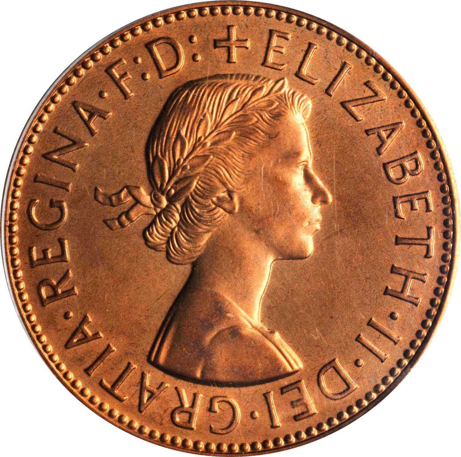 Penny (Pre-decimal): Photo Great Britain 1961 penny
