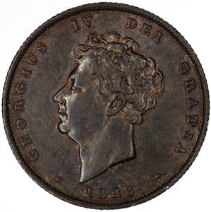 United Kingdom / Shilling 1826 - obverse photo
