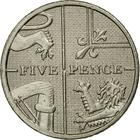 United Kingdom / Five Pence 2009 - reverse photo