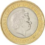 United Kingdom / Two Pounds 2014 WW1 - Outbreak - obverse photo