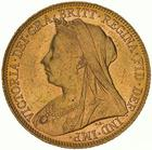Sovereign 1900: Photo Coin - Sovereign, Victoria, Australia, 1900