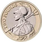 United Kingdom / Two Pounds 2016 Britannia - reverse photo