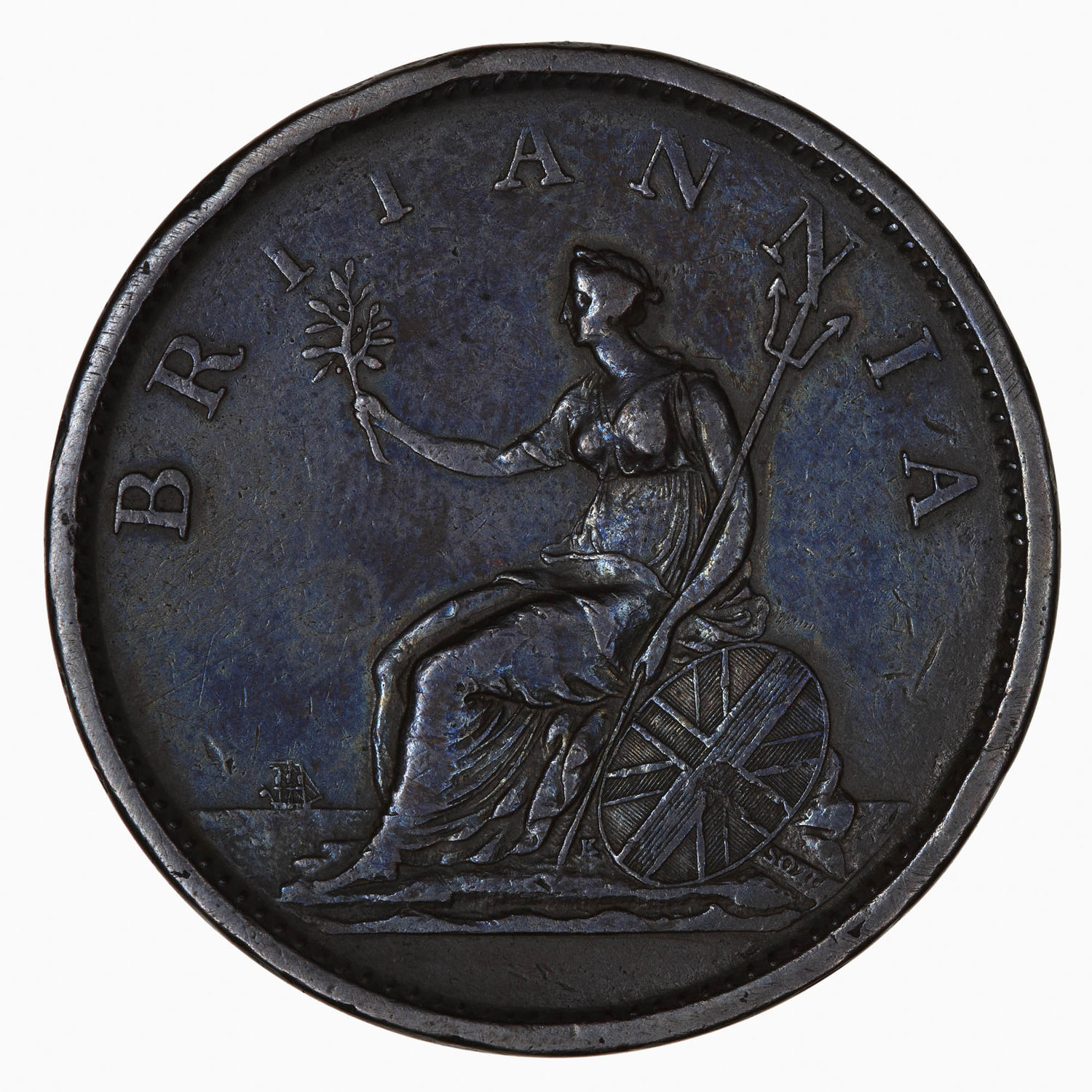 Penny 1807: Photo Coin - Penny, George III, Great Britain, 1807
