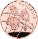 United Kingdom / Five Pounds 2018 Poppies - reverse photo