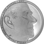 United Kingdom / Five Pounds 2011 Prince Philip / Silver Proof Piedfort - reverse photo