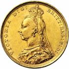 United Kingdom / Sovereign 1890 - obverse photo