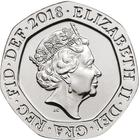 United Kingdom / Twenty Pence 2018 (mint sets only) - obverse photo