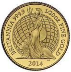 United Kingdom / Gold Twentieth-Ounce 2014 Britannia - reverse photo