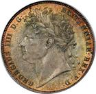 United Kingdom / Halfcrown 1820 George IV - obverse photo