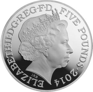 United Kingdom / Five Pounds 2014 Propaganda - obverse photo