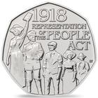United Kingdom / Fifty Pence 2018 Representation of the People Act - reverse photo