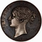 Crown 1839 (Proof only): Photo Proof Coin - Crown, Queen Victoria, Great Britain, 1839