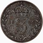 United Kingdom / Threepence 1925 (Circulating) - reverse photo