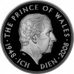 United Kingdom / Five Pounds 2008 Prince Charles - reverse photo