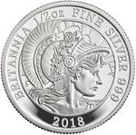 United Kingdom / Silver Half Ounce 2018 Britannia - reverse photo