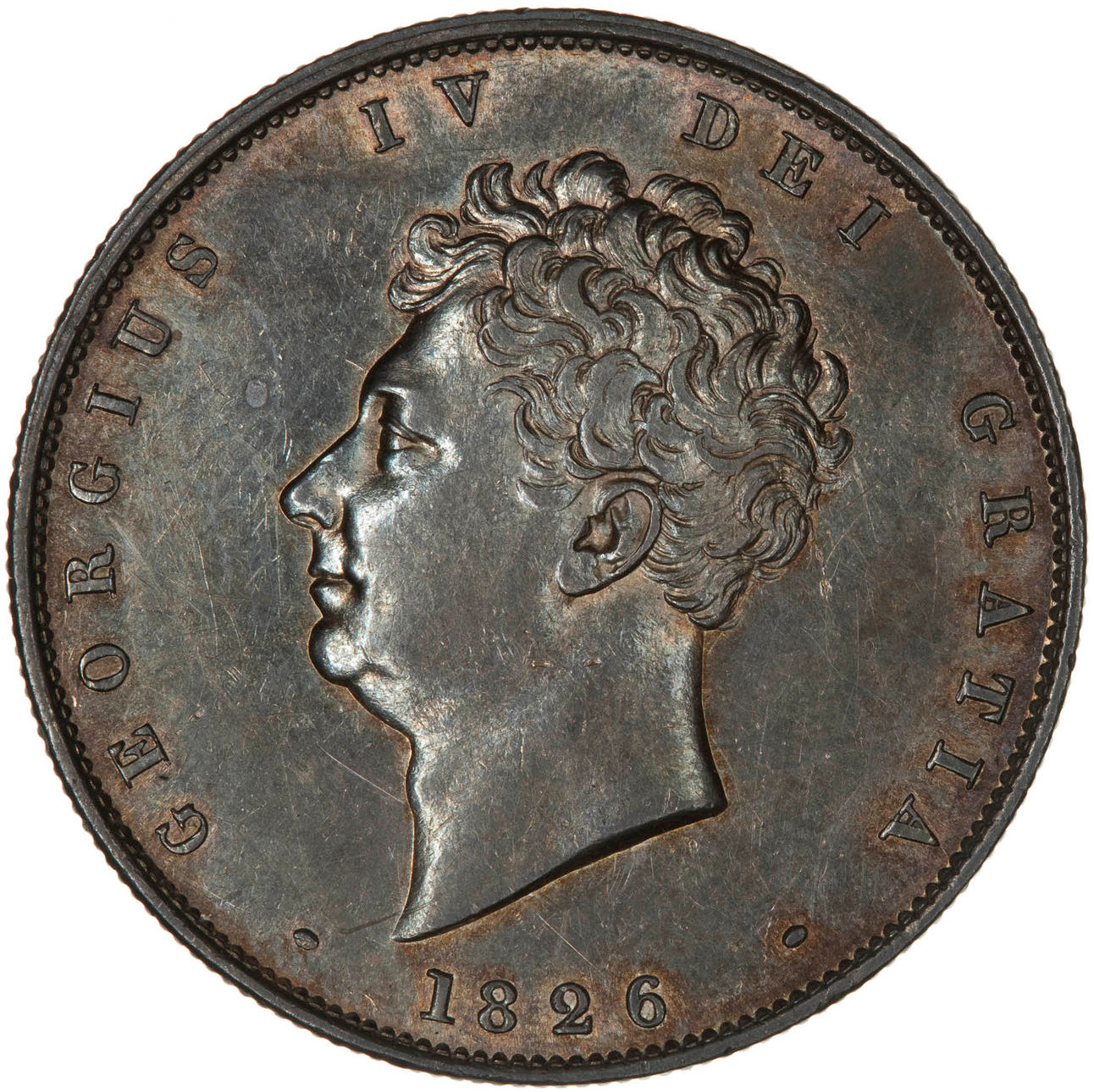 Halfcrown 1826: Photo Coin - Halfcrown, George IV, Great Britain, 1826