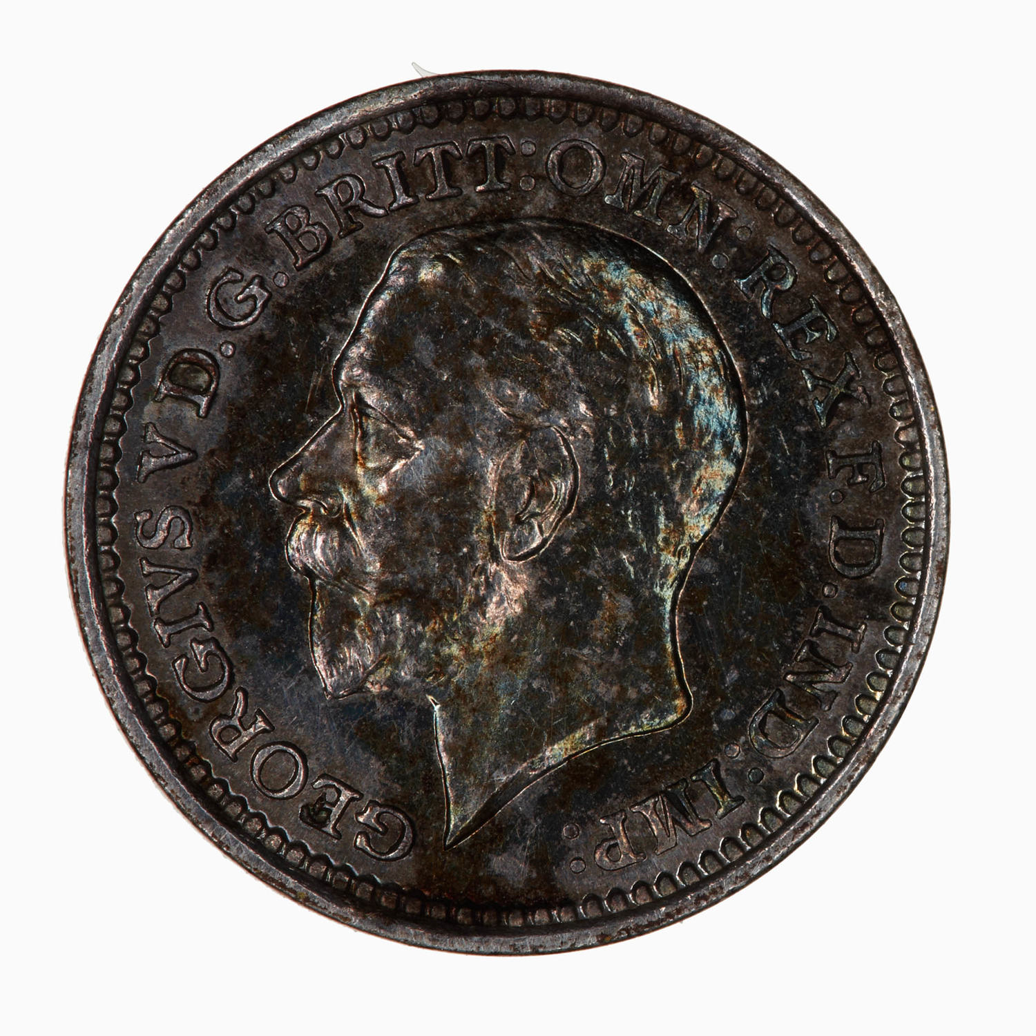 Maundy Twopence (Pre-decimal): Photo Coin - Twopence (Maundy), George V, Great Britain, 1932
