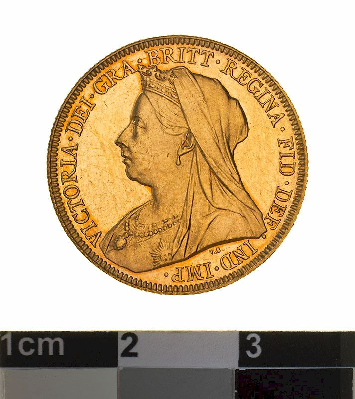 Sovereign 1899: Photo Proof Coin - Sovereign, Western Australia, Australia, 1899