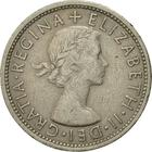 United Kingdom / Two Shillings (Florin) 1966 - obverse photo