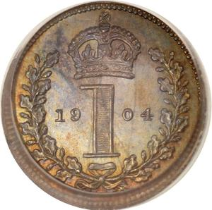 United Kingdom / Penny 1904 (Maundy) - reverse photo