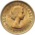 United Kingdom / Sovereign 1966 - obverse photo