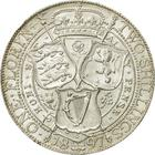 Florin 1897: Photo Silver florin, Great Britain
