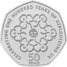 United Kingdom / Fifty Pence 2010 Girl Guiding - reverse photo