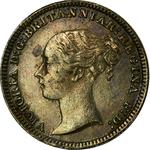 United Kingdom / Penny 1881 (Maundy) - obverse photo