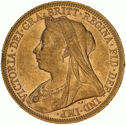 Sovereign 1896: Photo Coin - Sovereign, New South Wales, Australia, 1896
