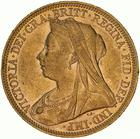 United Kingdom / Sovereign 1896 - obverse photo