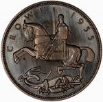 United Kingdom / Crown 1935 Rocking Horse - reverse photo