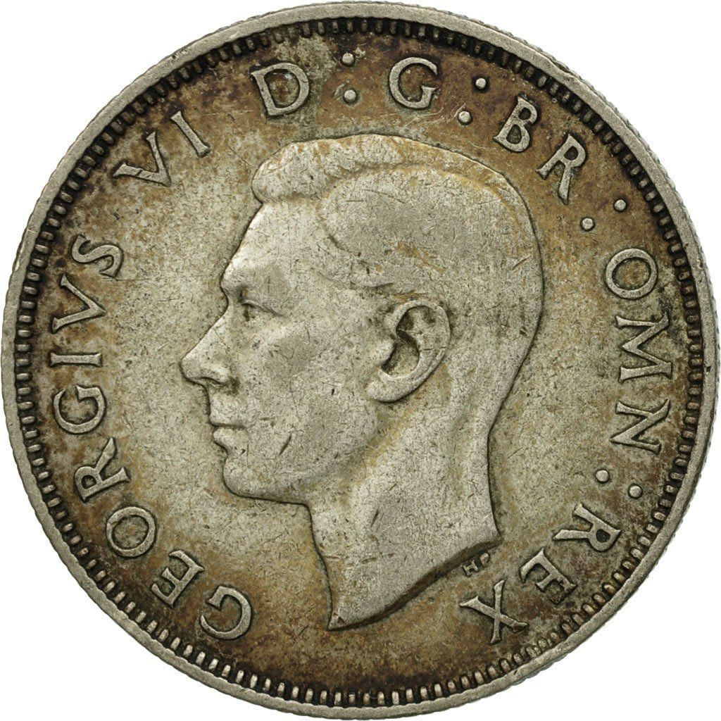Two Shillings (Florin) 1940: Photo Great Britain, George VI, Florin, Two Shillings, 1940